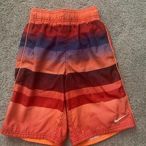 Boys Nike bathing suit shorts
